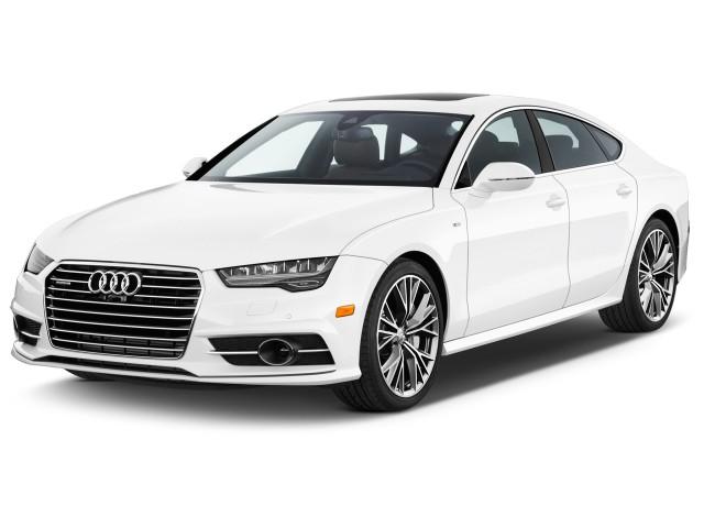 2017 Audi A7 3.0 TFSI Premium Plus Angular Front Exterior View
