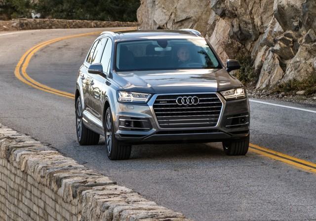 Entry Level 4 Cylinder Audi Q7 Priced Under 50 000 2017