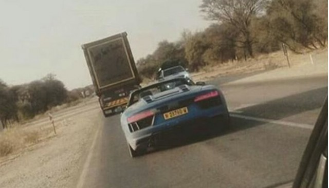 2017 Audi R8 Spyder Via cars_in_namibia