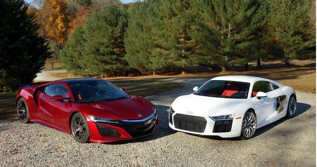 Audi R8 We Compare Tech Versus Higher