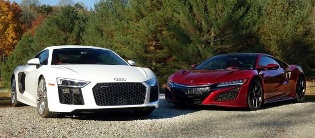 2017 Audi R8 vs. 2017 Acura NSX