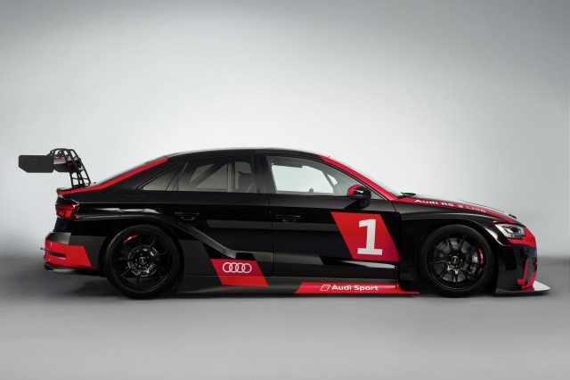 2017 Audi RS 3 LMS race car
