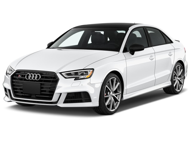 2017 Audi S3 2.0 TFSI Premium Plus Angular Front Exterior View