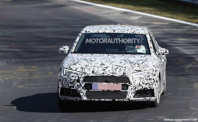 2017 Audi S4 spy shots - Image via S. Baldauf/SB-Medien