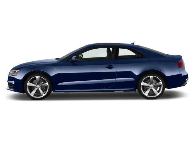 2017 Audi S5 Coupe 3.0 TFSI Manual Side Exterior View