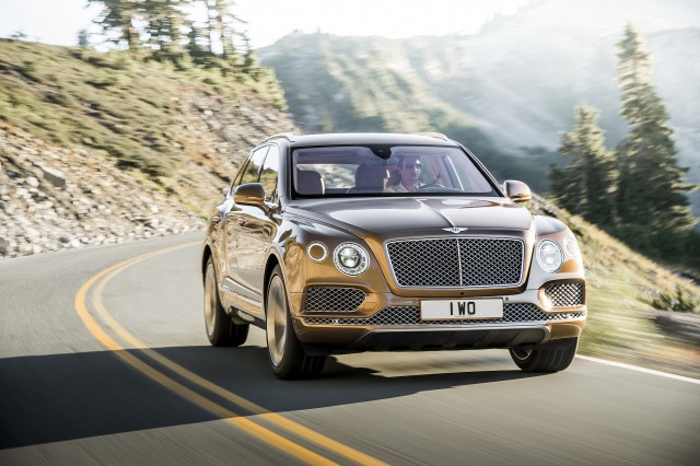 Bentley Bentayga Diesel To Feature Electric Aided Turbocharger