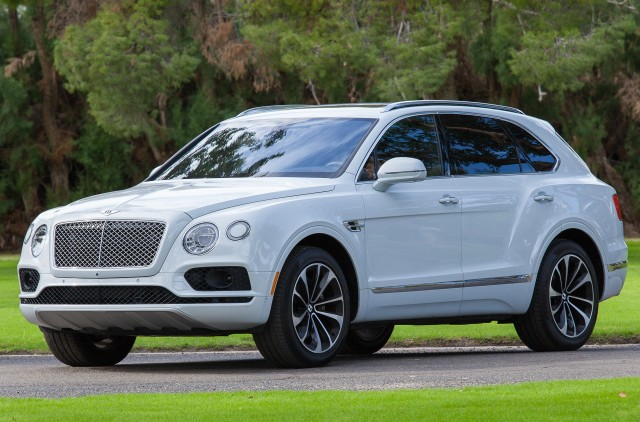 Bentley Bentayga plug-in hybrid SUV to debut in March at Geneva auto ...