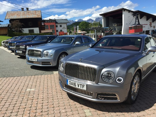 2017 Bentley Mulsanne Bavarian Press Drive 2016