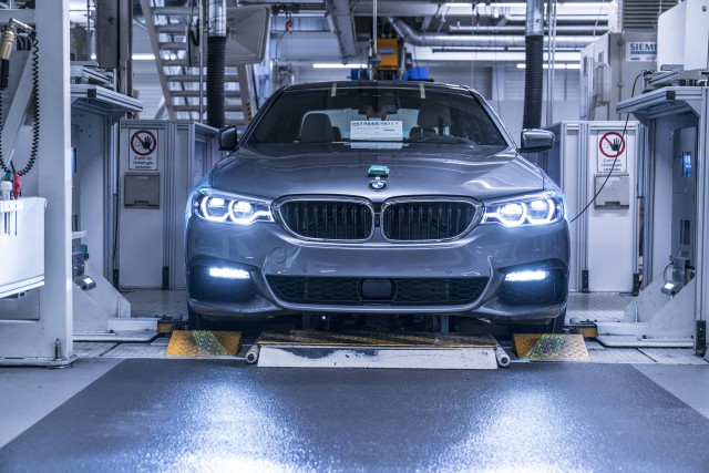 2017 BMW 5 Series Production In Dingolfing, Germany