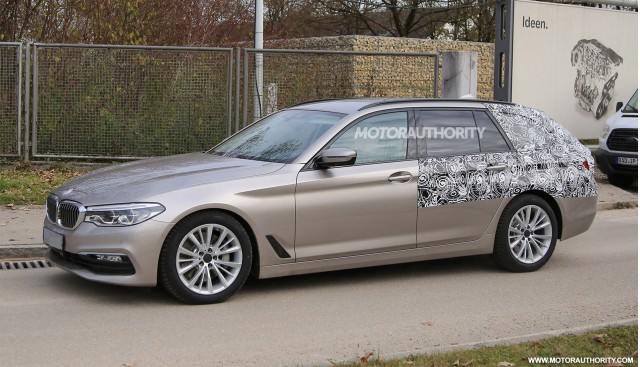 2017 Bmw 5 Series Sports Wagon Touring Spy Shots Image Via S