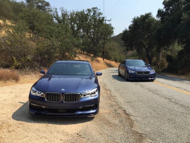 2017 BMW Alpina B7 xDrive first drive review, Salinas, California