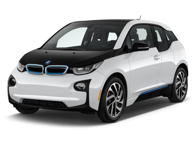 2017 BMW i3 94 Ah w/Range Extender Angular Front Exterior View