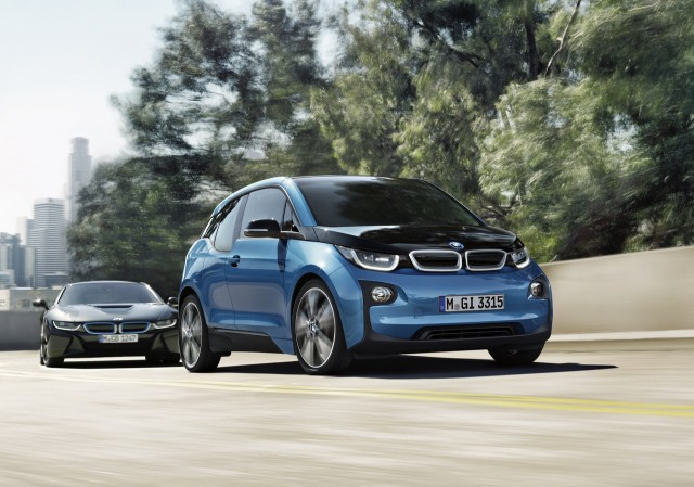 2017 Bmw I3 Electric Car Longer Range Battery But Current 81 Mile