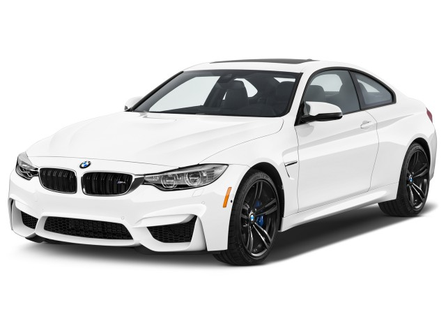 2017 BMW M4 Coupe Angular Front Exterior View