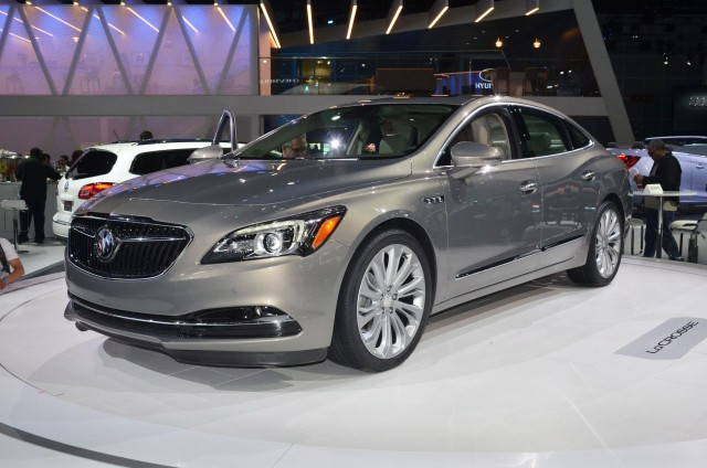 2017 Buick LaCrosse, 2015 Los Angeles Auto Show
