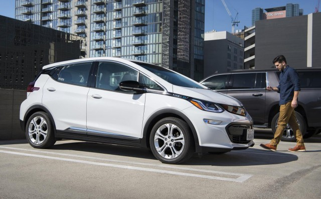 2017 Chevrolet Bolt Ev Added To Maven Car And Ride Sharing Fleet In Los