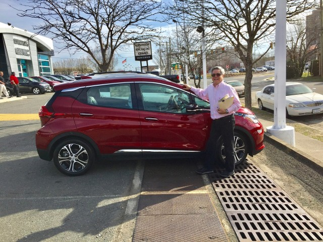 2017 Chevrolet Bolt Ev Electric Car June Road Trip From Va To Ky And