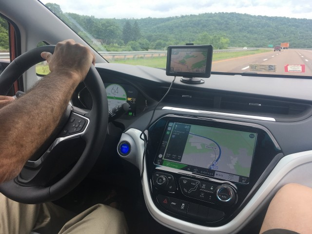 2017 Chevrolet Bolt EV electric car, June 2017 road trip from VA to KY and back [Jay Lucas]