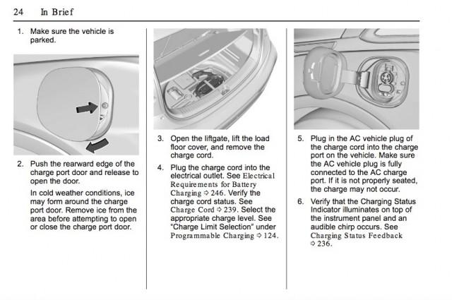 2017 Chevrolet Bolt EV owner's manual