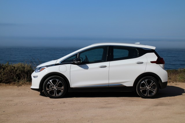 2017 Chevrolet Bolt Ev Road Test California Coastline Sep 2016