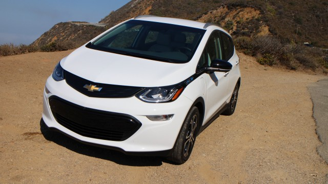 2017 Chevrolet Bolt EV, road test, California coastline, Aug 2016