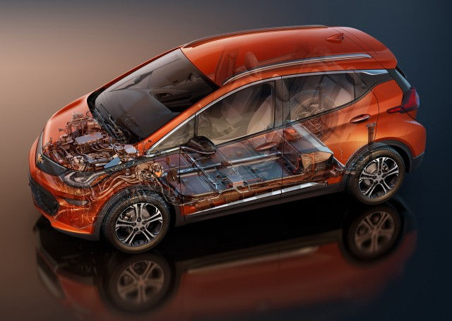 How much is a replacement Chevy Bolt EV electriccar battery