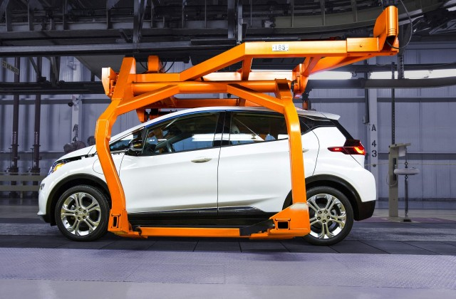 Chevrolet Bolt Ev Electric Car To Enter Production In October