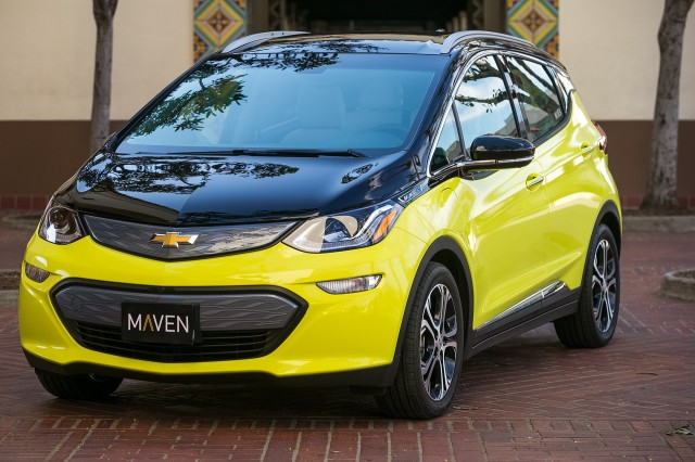2017 Chevrolet Bolt Ev Electric Car In Maven Sharing Fleet Los Angeles