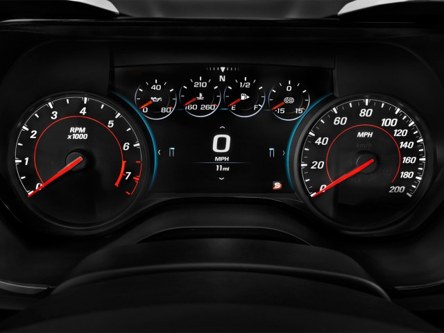 2017 Chevrolet Camaro 2-door Coupe ZL1 Instrument Cluster