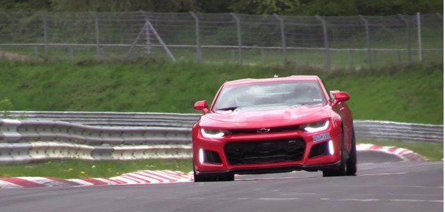 2017 Chevrolet Camaro ZL1 at the Nürburgring