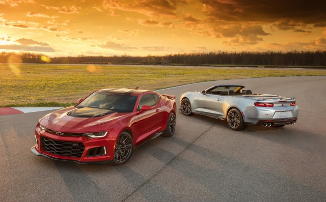 2017 Chevrolet Camaro ZL1's top speed confirmed at 198 mph