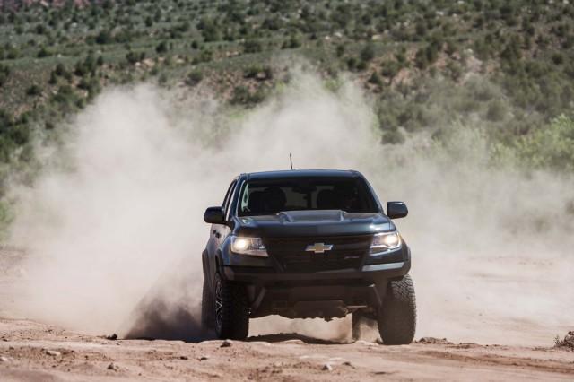 Chevrolet Colorado ZR2 airbag deployment fix rolls out