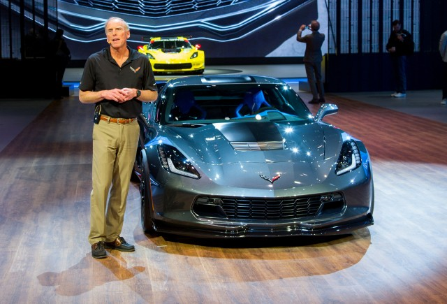 2017 Chevrolet Corvette Grand Sport Collector Edition, 2016 Geneva Motor Show