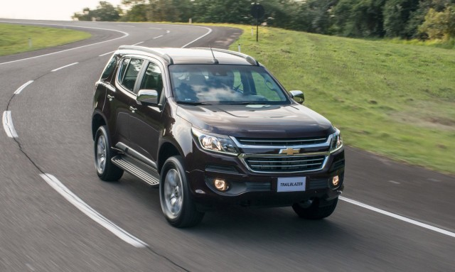 2017 Chevrolet Trailblazer (South American spec)