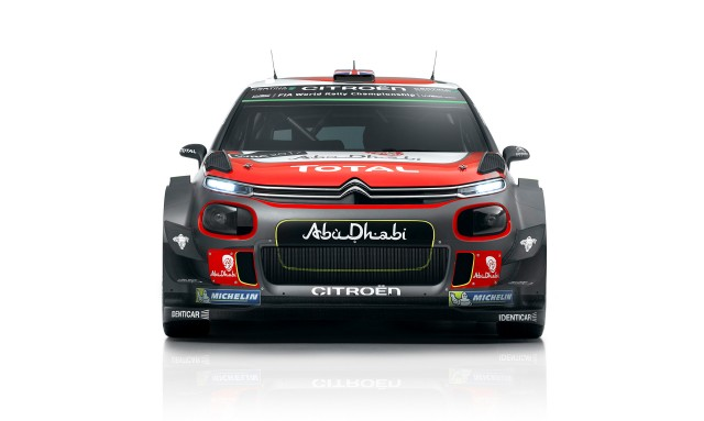 2017 Citroën C3 WRC rally car