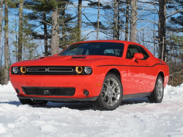 2017 Dodge Challenger GT, Media drive, Portland, Maine, January 2017
