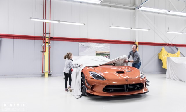 Largest 5th-gen Dodge Viper customer delivery