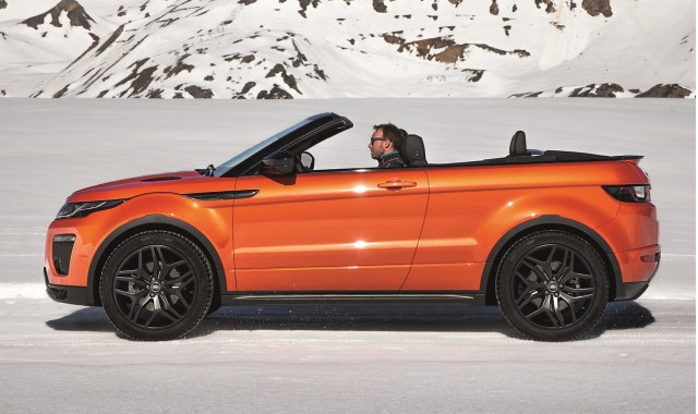 2017 Land Rover Range Evoque Convertible