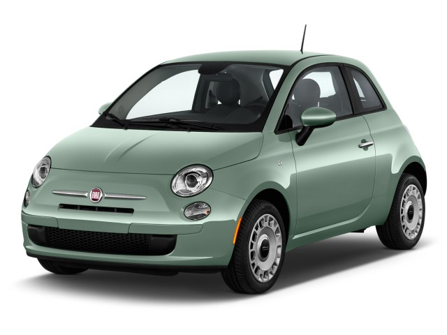 2017 FIAT 500 Pop Hatch Angular Front Exterior View