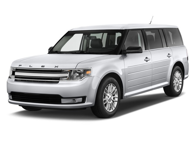 2017 Ford Flex 4-door SEL FWD Angular Front Exterior View