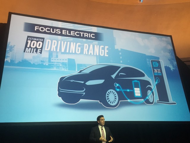 2017 Ford Focus Electric, from presentation on Ford electrification plans, Dec 2015