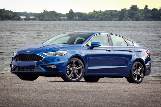 2017 Ford Fusion Compare Cars
