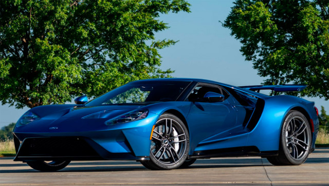 2017 Ford GT originally commissioned by John Cena - Image from Mecum Auctions
