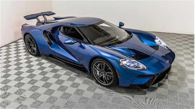 2017 Ford GT originally commissioned by John Cena - Image via Russo and Steele