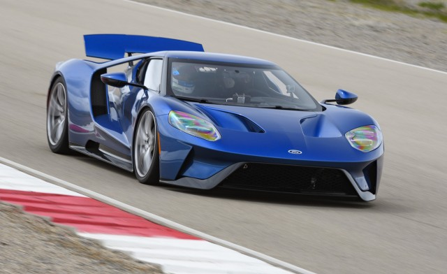 $450,000 Ford GT supercar production extended by two years due to demand
