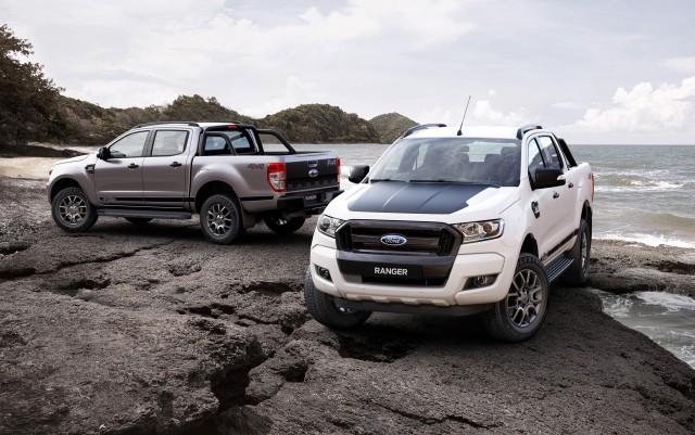 2017 Ford Ranger FX4 (Australian spec)