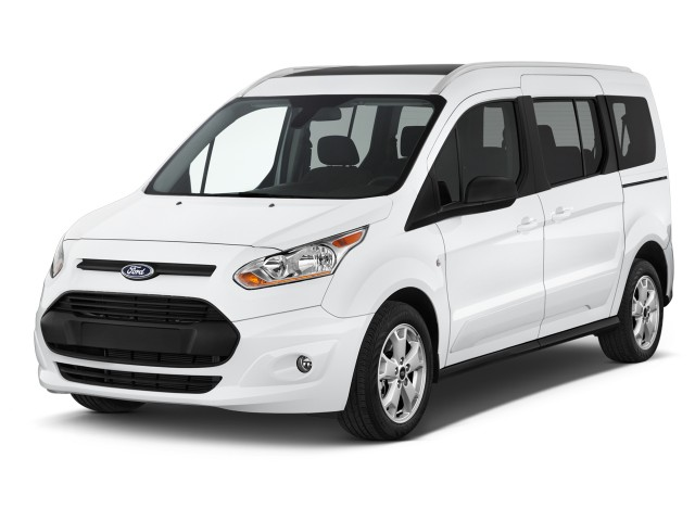 2017 Ford Transit Connect Wagon XLT LWB w/Rear Liftgate Angular Front Exterior View