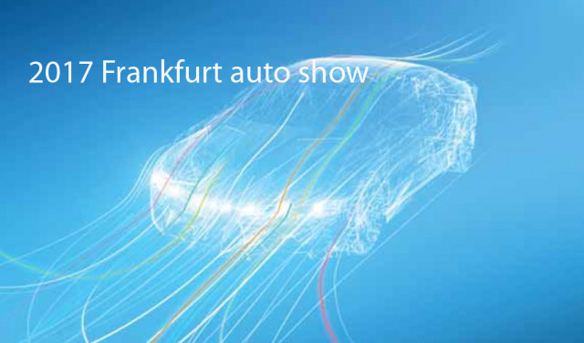 2017 Frankfurt auto show logo