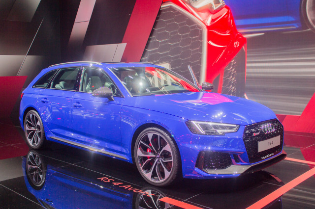 Audi RS 4 Avant, 2017 Frankfurt Auto Show