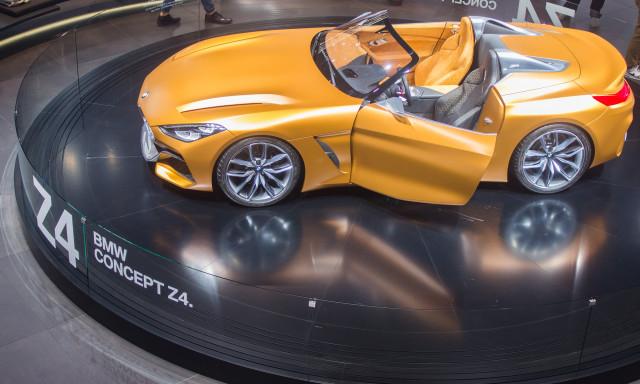 BMW Z4 Concept, 2017 Frankfurt Auto Show